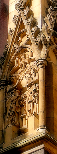 All Saints, exterior detail