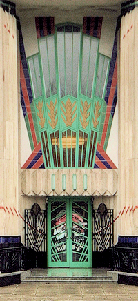 Hoover Building main door