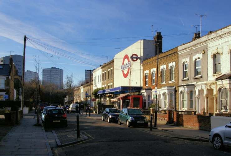 geograph-5258092-by-Christopher-Hilton - Gillespie Road and Arsenal tube station