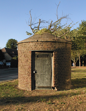 Cranford's claustrophobic Round House, in which local miscreants were once locked up for the night