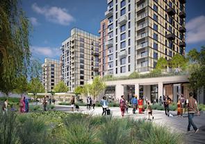 Ferry Lane build-to-rent scheme [developers' CGI]