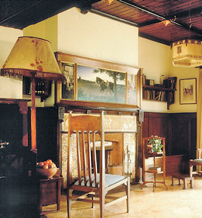 The sitting room at Little Holland House