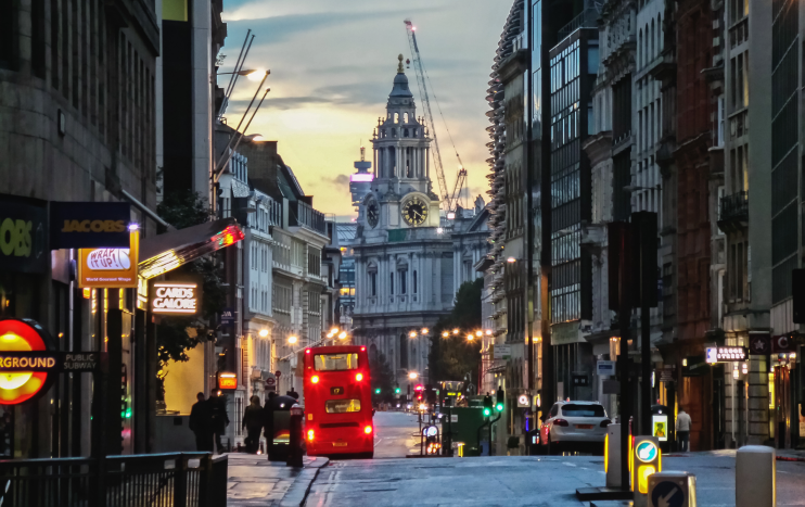 Looking Down Cannon Street - Garry Knight