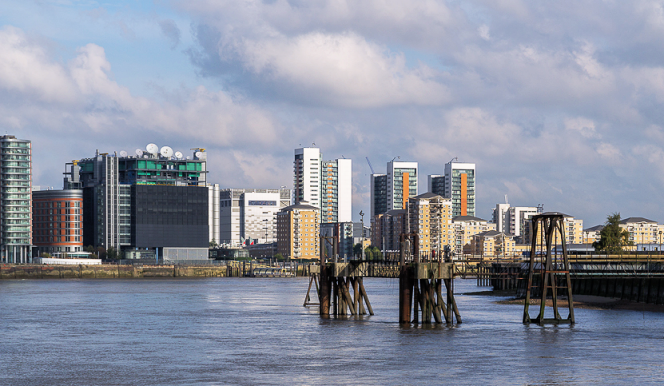 North Bank of the Thames opposite O2 Centre - geograph-3712261-by-Christine-Matthews
