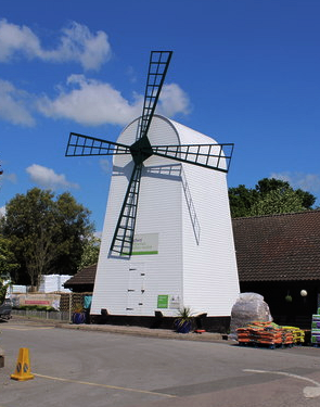 Windmill at Wyevale garden centre
