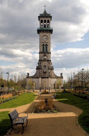 Clock Tower - Caledonian Park