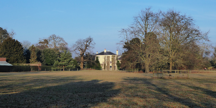 geograph-2488357-by-Marathon - Down House seen across The Great House Meadow