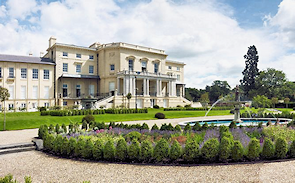 Bentley Priory and a small part of its grounds - Barratt Homes image