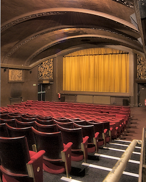 Interior of the Phoenix cinema