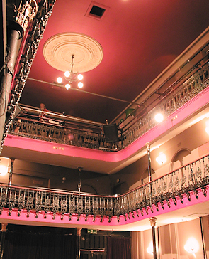 Hoxton Hall, with link to the website