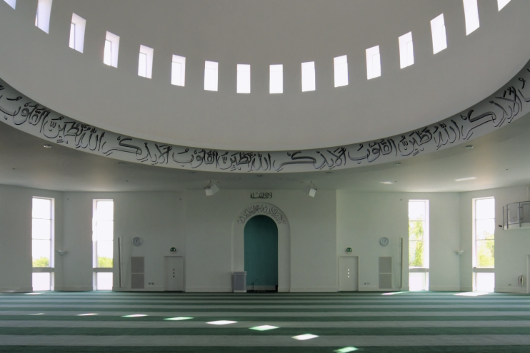 Hidden London: Morden mosque interior
