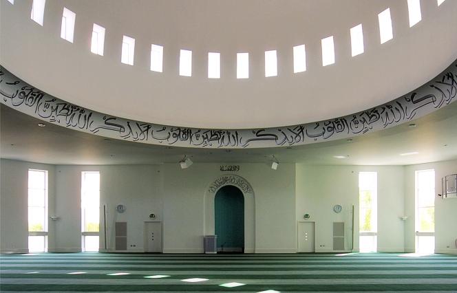 Morden mosque interior