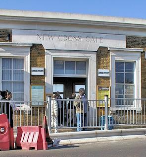 New Cross Gate station