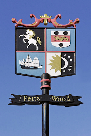 Petts Wood village sign
