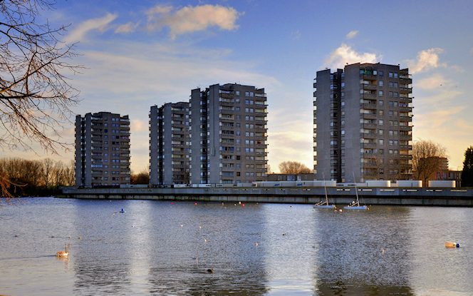 Southmere Flats 2012 - George Rex - flickr