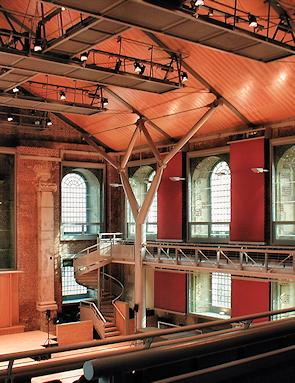 St Lukes - the refurbished church interior