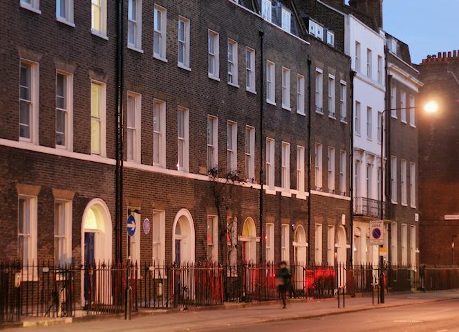 Gower Street - southern end - east side, December 2014