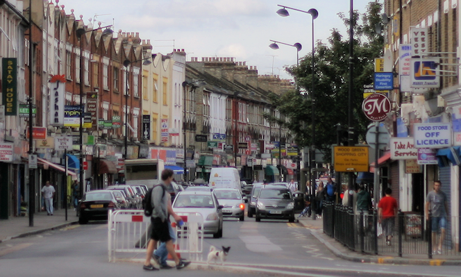 Turnpike Lane - long view