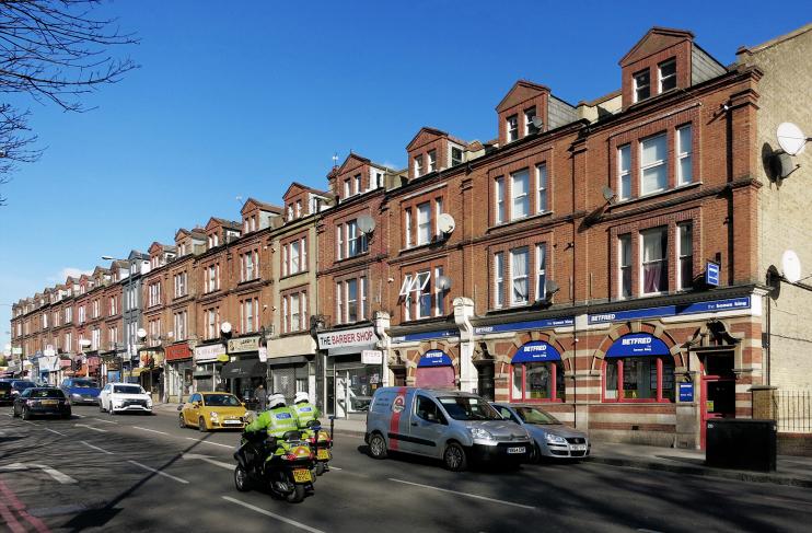 geograph-5052750-by-Des-Blenkinsopp - Shop Terrace, Upper Clapton Road