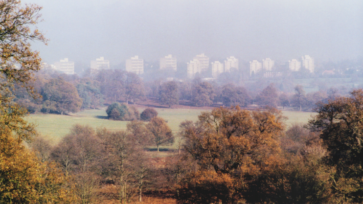 The Alton estate, image scanned from a photoprint