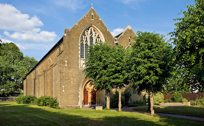 St John the Evangelist - West Hendon - geograph-1930536-by-Martin-Addison