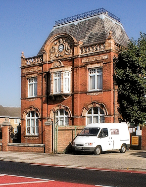 Former tramway offices in Chapel End
