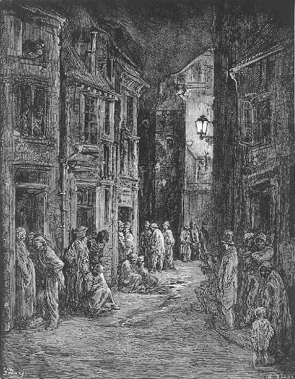 Gustave Doré: Bluegate Fields (from London: A Pilgrimage)