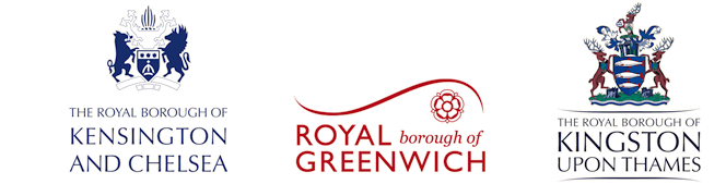 logos of the royal boroughs of London