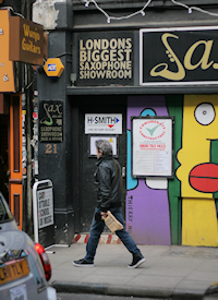 Some businesses left Denmark Street during its 'regeneration'