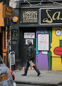 Some businesses left Denmark Street during its 'regeneration'