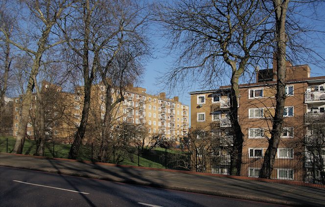 St Martins estate - Tulse Hill - geograph-3843795-by-Bill-Boaden