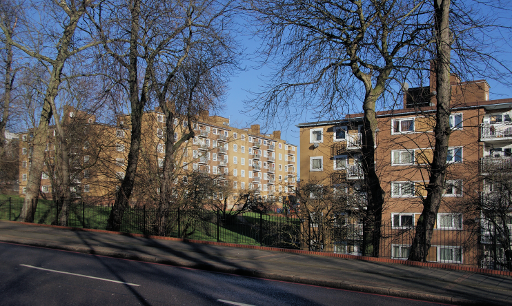 St Martins estate - Tulse Hill - geograph-3843795-by-Bill-Boaden