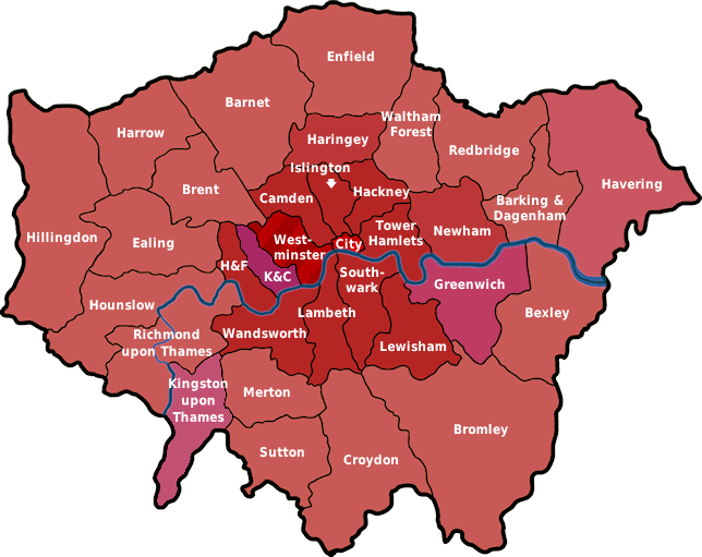 london boroughs data recovery