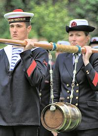 Constables Dues ceremony