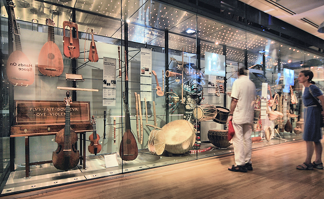 Horniman Museum musical instruments gallery