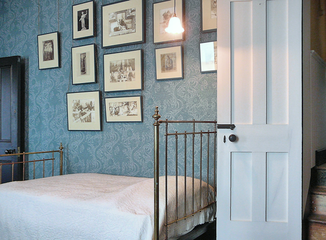 Frederic Leighton's bedrooom at Leighton House