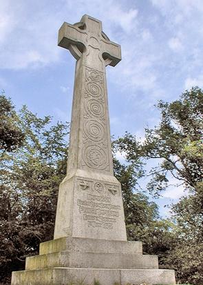 Chislehurst - the towering Prince Imperial memorial