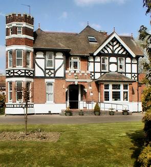 Cranham Court, front exterior