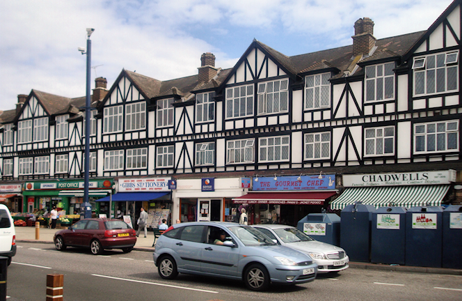 Hidden London: Tudor Parade, Chadwell Heath, by Stacey Harris