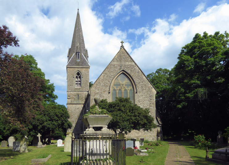 geograph-5402669-by-Marathon - All Saints Church, Cranham