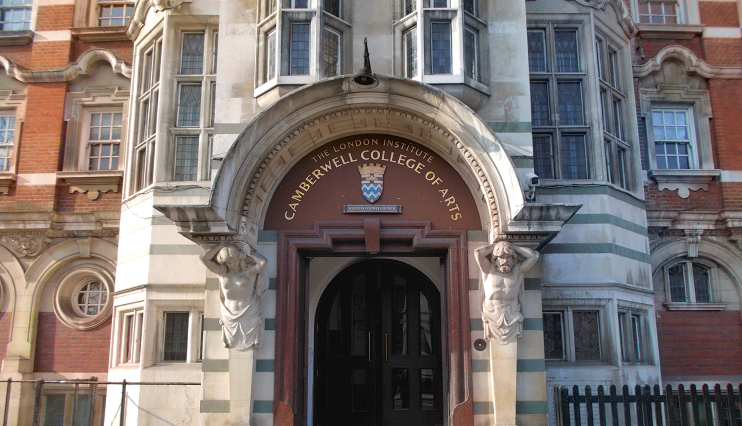 Camberwell College of Arts entrance
