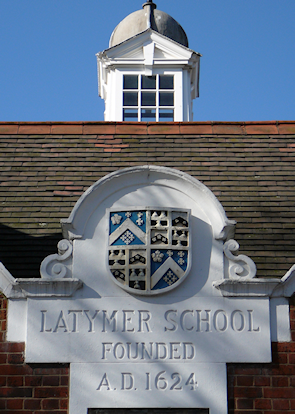 The Latymer School: founded 1624 – though not at this location