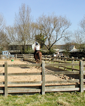Goulds Green riding school, seen c.2004