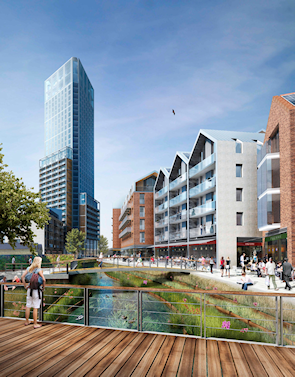 The future look of Wandsworth town centre [developer's CGI]