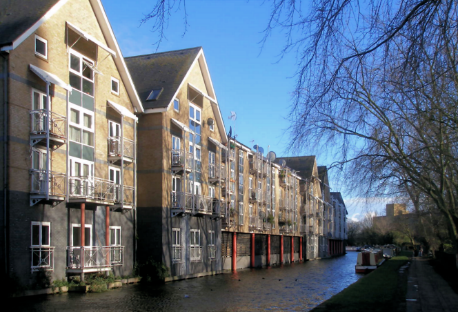 geograph-4849299-by-John-Slater - Canalside properties at Kensal Town