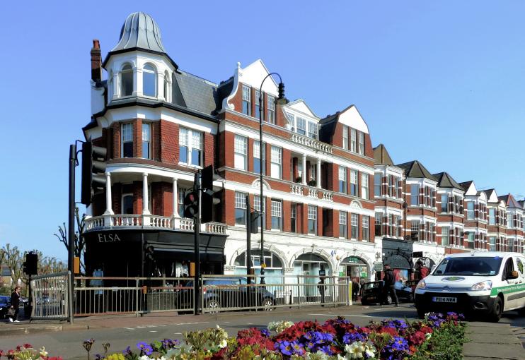 Hidden London: Queens Mansions, Muswell Hill by Des Blenkinsopp