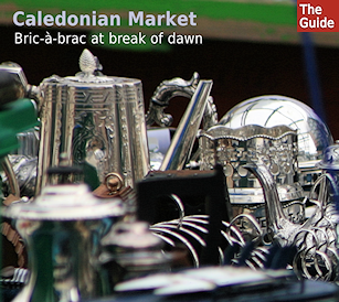 Caledonian Market - bric-​​a-​​brac at break of dawn