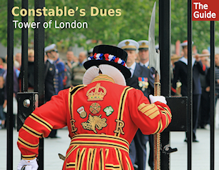 Constables Dues, Tower of London, rolling out the ceremonial barrel