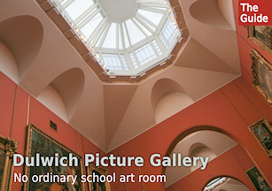 Dulwich Picture Gallery - no ordinary school art room