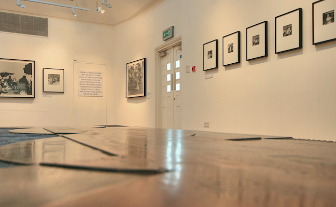 A temporary photographic exhibition at the Estorick gallery in 2011